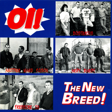 Oi The New Breed - Released by STEP1 Records 1993